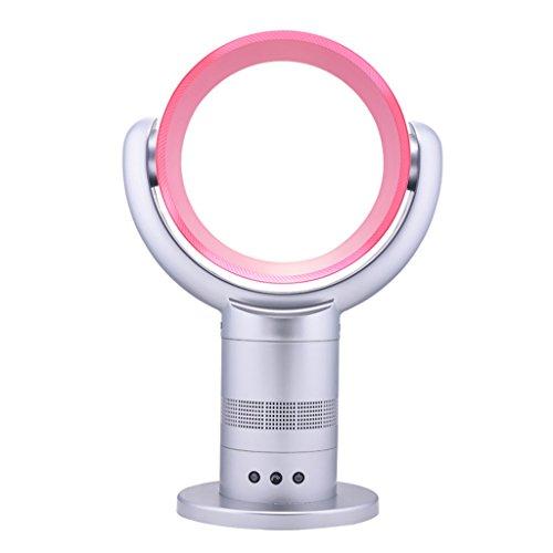Panel-Lüfter mit Luft-Multiplikator-Technologie gehören energiesparende Lüfter Fernbedienungen mit 360 Grad Dreh-Sleep-Timer-Funktion ( Farbe : Pink )