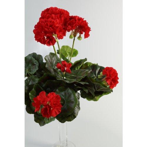 Kunstblume 4 Blüten,