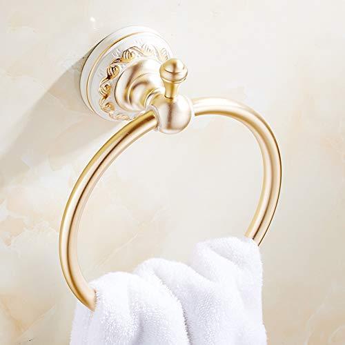 Stil Handtuchhalter,Handtuchring,Handtuch aufhängen,Wandbehang Badezimmer Handtuchhalter, bügel-A 16cm(6inch) ()
