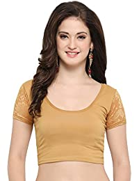 1a9340168bd56 Amazon.in  Beige - Blouses   Ethnic Wear  Clothing   Accessories