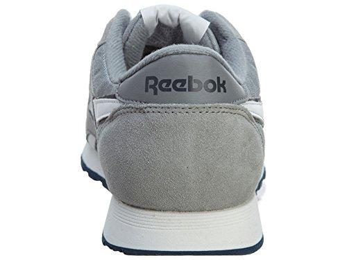 Reebok Classic Leather, Scarpe da corsa Unisex-Adulto Argento-Grigio /