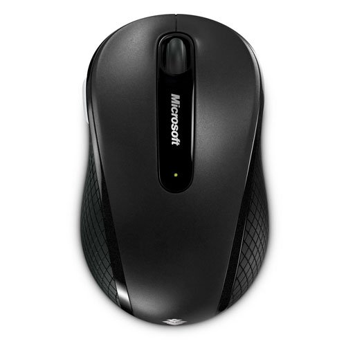 Microsoft D5D-00133 Wireless Mobile Maus 4000, 2.4 GHz Graphit/schwarz