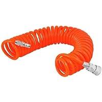 Sonline Manga Espiral Retractil Flexible PU 6M 19.7Pies 8mm x 5mm para Compresor de Aire