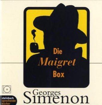 Buchseite und Rezensionen zu 'Die Maigret Box. Kriminalgeschichten. 8 CDs' von Georges Simenon
