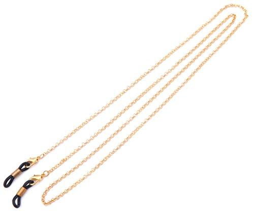 Likgreat Brillenkette für Damen, Perlenkette für Lesebrillen, Sonnenbrillen, Brillenhalter, Halteband
