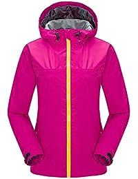 Zhuhaitf Sencillo Women Outdoor Sports Camping Single layer fashion Coat Waterproof Jacket