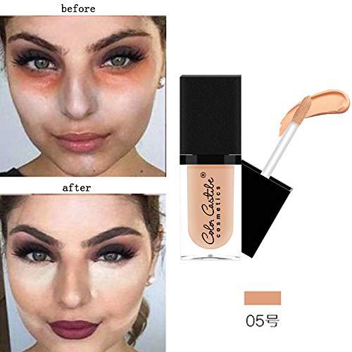 Amuster_Palette de Maquillage Poudre Compacte Poudre Pressée Fonds de Teint Naturelle Make Up Palette Professionnel Beauté Cosmétique Set