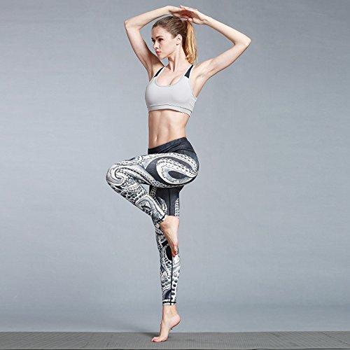 Doris Boutique FU – Hochwertige Yoga Workout Stretch Leggings – verschiedene Muster - 5