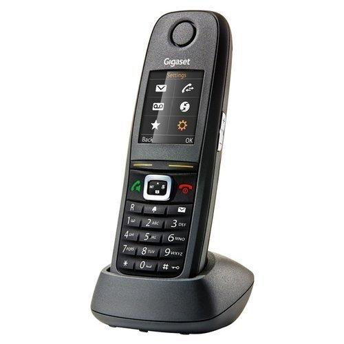 Gigaset R650H Pro - Teléfono fijo inalámbrico, color negro