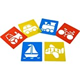 Transport Best Deals - Transport Stencils (Set of 6)