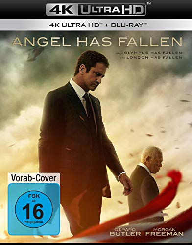 Angel Has Fallen (4K Ultra HD) [Blu-ray]