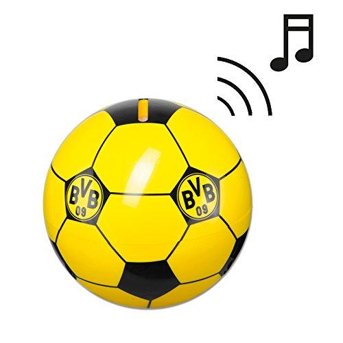 Preisvergleich Produktbild BVB Dortmund Soundartikel Spardose Fussball mit Sound