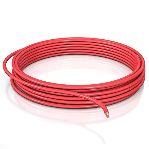 DCSk 4mm² Fahrzeugleitung FLRY B asymmetrisch - 5m - KFZ-Kabel-Litze - rot - 5 m Ring