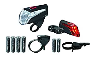 Trelock LS450/320 Kit lampe vélo Noir