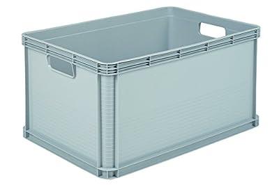 keeeper 10886120000 robert transportbox 64 l light grey