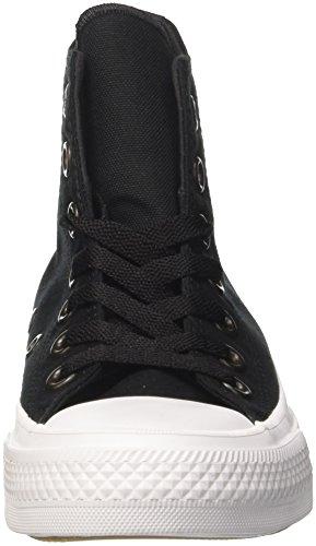 Converse 150143c, Scarpe da Ginnastica Unisex – Adulto Nero (Black/White/Navy)