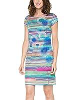 Desigual Ultra - Robe - Tunique - Imprimé - Manches courtes - Femme