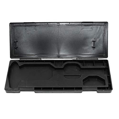 Ouken Tragbarer Dial Caliper Box Multi-Funktions-Aufbewahrungsbox elektronische Digital-Messschieber Werkzeugkoffer Digital Schieber-Box 0-150mm Zufallstypart