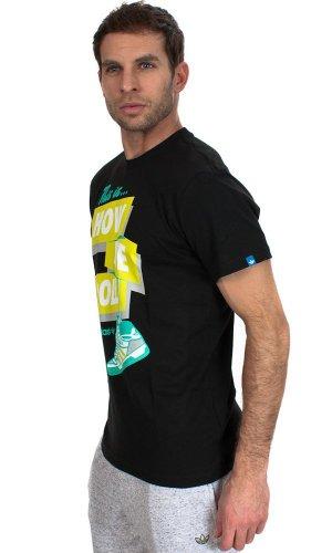 Kurzärmeliges T-Shirt Type Tee Noir ADIDASHerren Schwarz