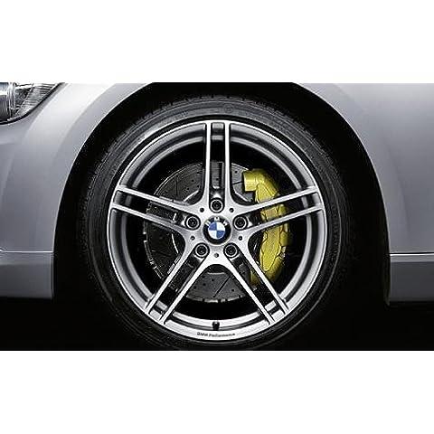 Original BMW aluminio Llanta 3E90E91E92E93Performance doble radios 313en 19pulgadas para trasera
