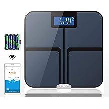 TKFY Báscula de baño Inteligente balanza de precisión Cuerpo de Grasa Digital Peso del Cuerpo de