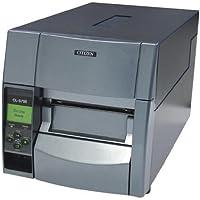 Citizen CL-S700 - Impresora de etiquetas (Térmica directa/transferencia térmica, 203 DPI, 254 mm/seg, LCD, Paralelo, Serial (RS-232), Alámbrico) Gris