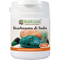 Bicarbonato de sodio 200g (grado alimenticio)