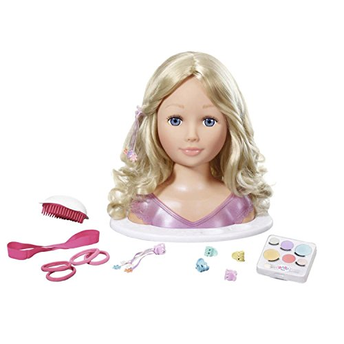 Zapf Baby Born Sister Styling Head Doll Make-up & Hair slyling Set - Accesorios para muñecas (Doll Make-up & Hair slyling Set, 3 año(s),, 27 cm, Chica, Baby Born)