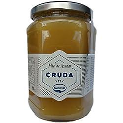 Naturval - Miel de Azahar Crema, Aroma Floral y Sabor Fuerte y Dulce, 950 g