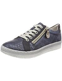 Remonte R7010, Sneakers Basses Femme, Bleu (Pazifik/Royal/Ozean/Pazifik), 38 EU