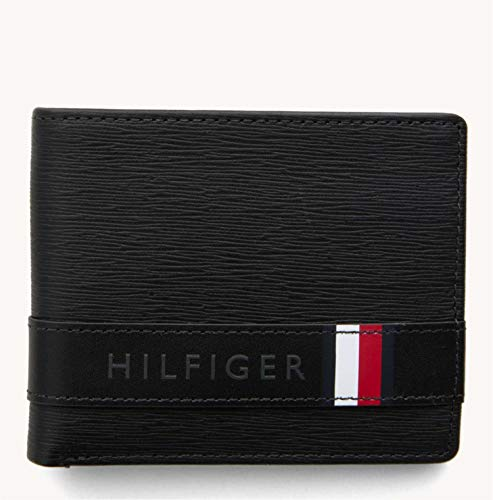 Tommy Hilfiger - Textured Leather Mini Cc Wallet