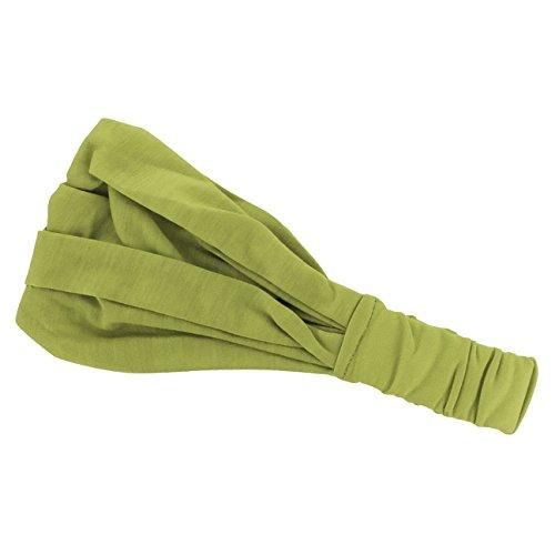 Hutshopping Haarband für Frauen | sportliches Bandana Kopftuch in Einheitsgröße (52-60 cm) | Stirnband Frühjahr Sommer (Sportliche Bandana)