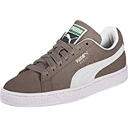 Puma - Suede Classic+ - Baskets mode - Mixte Adulte - Gris (steeple gray-white) - 43 EU