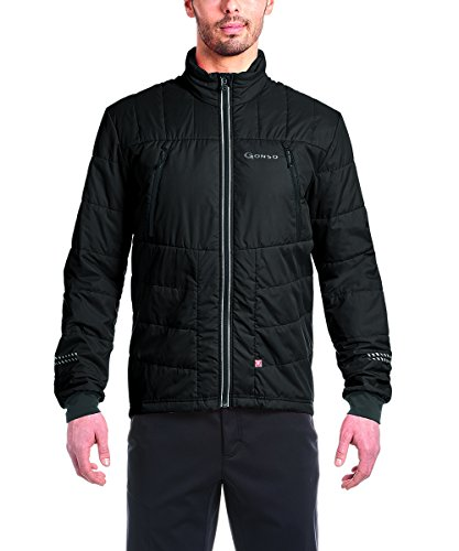Gonso buchit M Chaqueta Térmica Rueda, otoño/Invierno, Hombre, Color Negro, tamaño Extra-Large