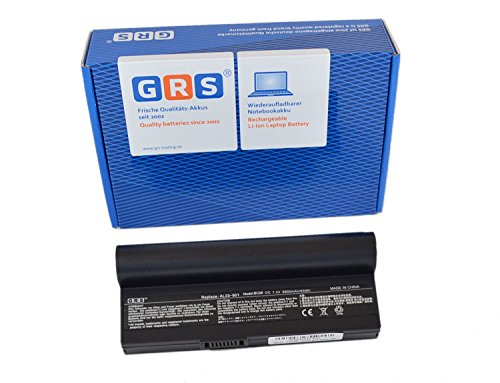 GRS® Notebook Akku für AL23-901 mit 8800mAh, ersetzt: Asus Eee PC 901, PC 1000, PC 1000H, PC 904, Laptop Batterie 8800mAh, 7.4V/ 65Wh