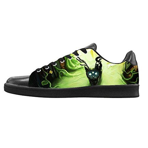 Dalliy kunst katze Men's Canvas shoes Schuhe Lace-up High-top Sneakers Segeltuchschuhe Leinwand-Schuh-Turnschuhe E
