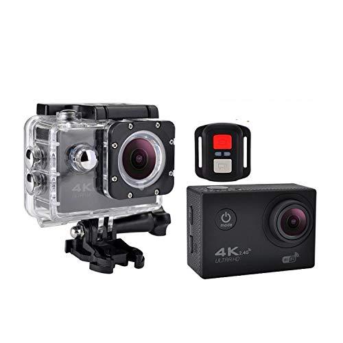 Dr.Kao Action-Kamera 4K 30 fps Sportkamera HD WiFi Sportkamera 12 MP 170 Grad Weitwinkelobjektiv 30 m wasserdicht Camcorder Tauchen Schnorcheln inkl. 20 Zubehörset