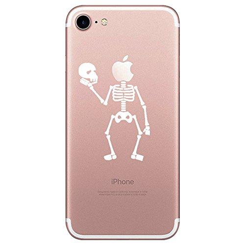 Qissy® iPhone 7 Funda,Carcasa iPhone 7 Case Cover Dibujos Animados Si