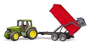 bruder-bruder-02057-tracteur John Deere 6920con Remolque, 2057, Verde