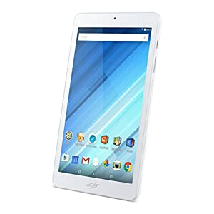 Acer Tablet Iconia One 8 (8-inches) B1-850 MediaTek MT8163 A53 1GB 16GB EMMC Touchscreen Android 5.1 Lollipop White