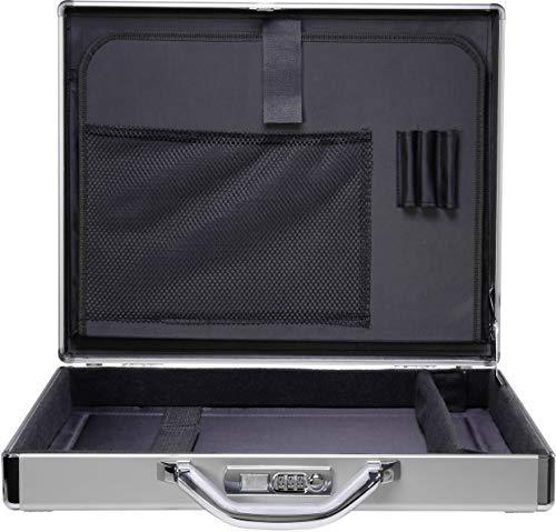 Renkforce Notebook valigia JJV-2004S adatto per maximal: 43,9 cm (17,3 ) alluminio