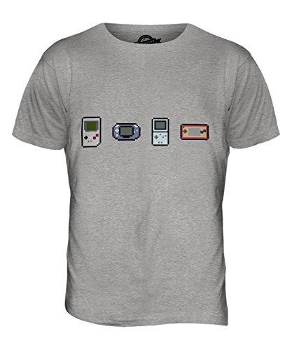 CandyMix Entwicklung Von Videospielen Herren T Shirt Grau Meliert