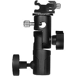Rovtop Joint T Multifonction Support pour Flash et Parapluie Eclairage Studio Photo