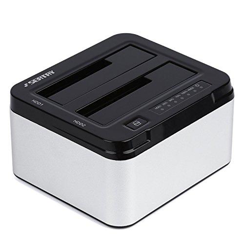 Tsing USB 3.0 Hard Disk Docking Station Con Funzione Clone Offline Per 2,5 Pollici e 3,5 Pollici per dischi rigidi SATA 2.5