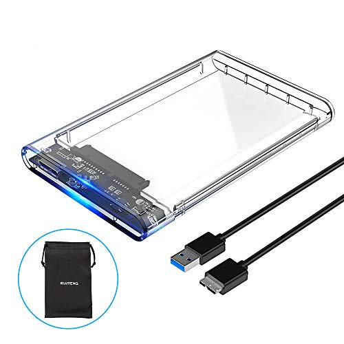 ELUTENG Disco Duro Caja USB 3.0 2.5 Inch HDD/SSD Case