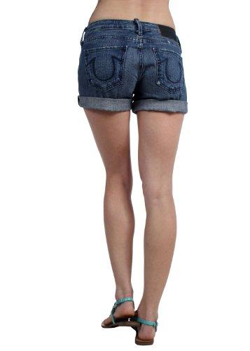 True Religion - - Frauen Cassie Rolled Shorts Cypress Peak
