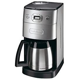 Cuisinart Grind and Brew Automatic | Bean to Cup Filter Coffee Maker | Thermal Carafe | DGB650BCU