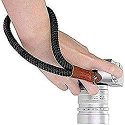 Digital Sangle pour Appareil Photo Coton Main de Caméra Poignet Bracelet pour appareils Photo numériques Leica, Canon, Nikon, Fuji, Olympus, Lumix, Sony