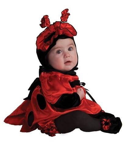 Rubie'S Costume Co Rubie'S Costume Noah'S Ark Satin Ladybug Costume, Red, 6-12 Months