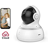 YI Cámara de Vigilancia 1080p Full HD Camara WiFi de Interior Rotación 360°